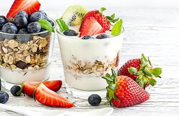 muesli-joghurt